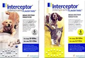 Interceptor heartworm prevention